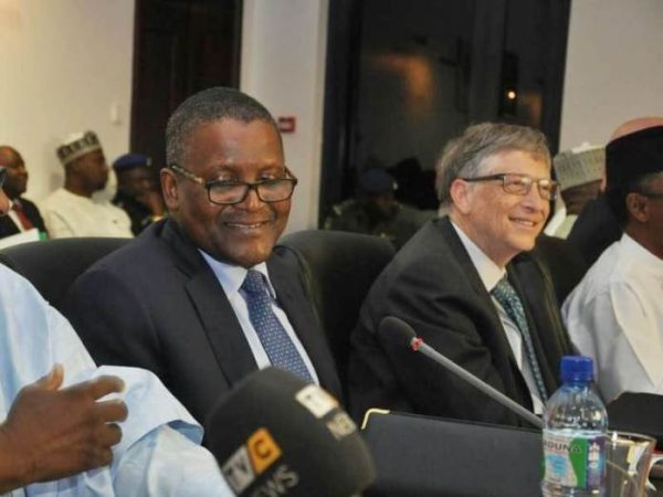 Africa's foremost entrepreneur, Aliko Dangote, has given an insight into why he is advocating that the private sector operators in the country should commit one per cent of their profit annually to funding health care services. Dangote had suggested to members of an expanded National Economic Council meeting recently on the need to have a trust fund to revitalise the country's sorry public health sector similar to the education trust fund operated at the federal level and security trust fund run in some states. He expressed the conviction that such trust fund would go a long way to help the health sector and improve the people's wellbeing in the face of multiple challenges confronting the country with limited resources available to government. His advice came on the day the Co-Chair, Bill and Melinda Gates Foundation, Bill Gates picked holes in the economic policy of the federal government, when he said the Economic Recovery and Growth Plan (ERGP) being bandied by the government does not address the needs of Nigerians. Gates said the ERGP was just a mere document which identifies the need to invest in people but which has failed to reflect so in its implementation adding that though Nigeria has economic potential, it has to be maximised through investment in people as the greatest resource. The Microsoft Founder stated emphatically that Nigeria was a dangerous country to give birth as it is the fourth worst country in maternity mortality rate in the world, only better than Sierra Leone, Central African Republic and Chad. He therefore urged the government to invest in healthcare, education and human capital because Nigeria's fiscal system is built on low equilibrium, which in turn produces low level of service. Dangote, while speaking with journalists in Lagos at the weekend on the proposal for one per cent profit for health care trust fund said for Nigeria to invest in her people, the same people must have good health and it is glaring that government does not have 