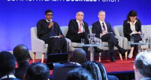 Nigeria is Safe for Business, Buhari Tells Investors at CHOGM