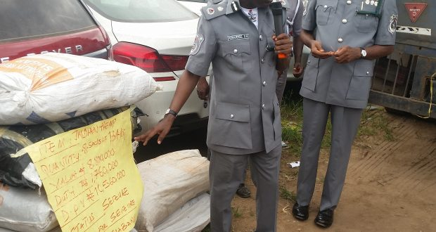 FOU Ikeja Customs Impounds N1.10bn Contraband In One Month