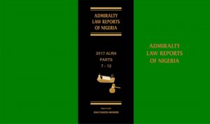Admiralty law reports of Nigeria