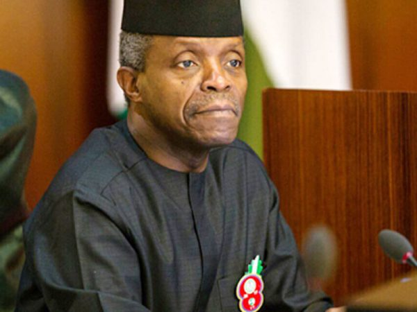 1,500 MSMEs To Benefit From Shared Facility Scheme — Osinbajo