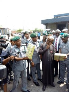 Seized 40 Tramadol Containers Arrested: Customs Officer Threatens To Expose Officer-Syndicates