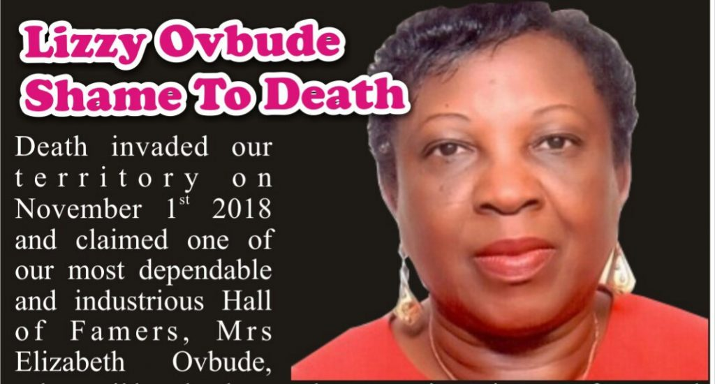 Mrs Lizzy Ovbude Shame To Death Mms Plus Ng Maritime Aviation Business Oil And Gas News