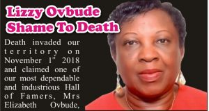 Mrs. Lizzy Ovbude: Shame To Death