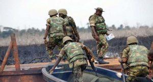 Military attacks militants, pirates, destroys illegal oil facilities in Niger Delta