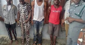 Cross Border Crime: Seme Customs Arrests Four Armed Robbers