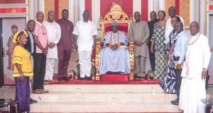 Olu of Warri Pledges Support To Ocean And Cargo Terminal