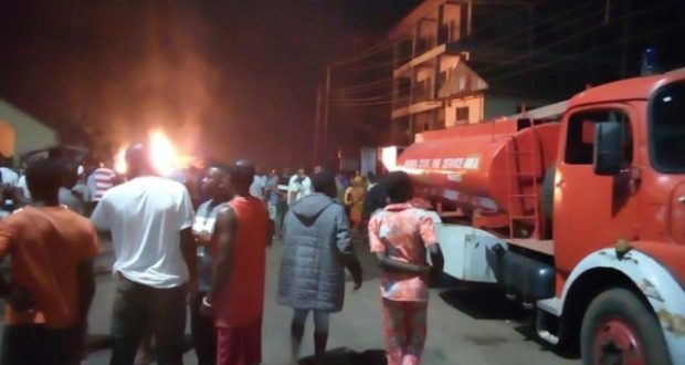 Another fuel tanker goes up in flames in Anambra