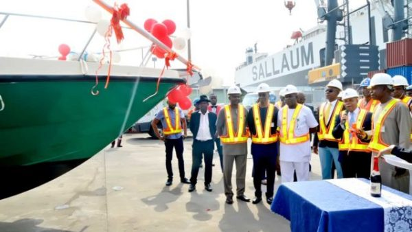 African Circle gets new patrol boats to curtail pollution