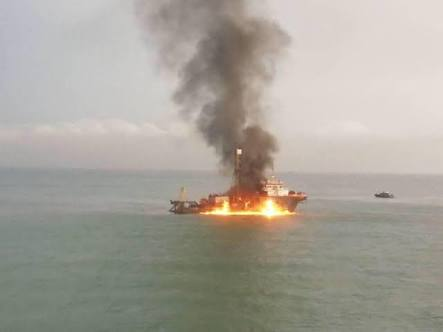 Managing Onboard Vessel Fires