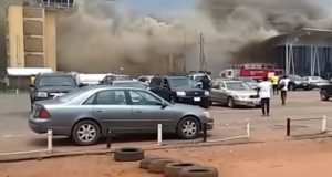 Passengers flee as fire razes section of Imo airport