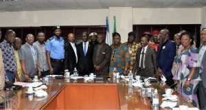 Presidential Taskforce Brainstorm On Apapa Gridlock