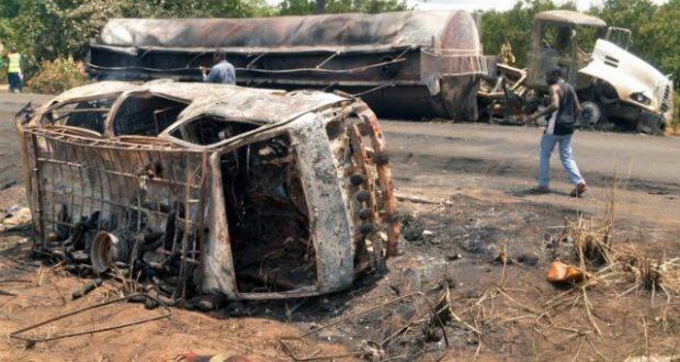 At least 45 killed in Nigeria fuel tanker blast