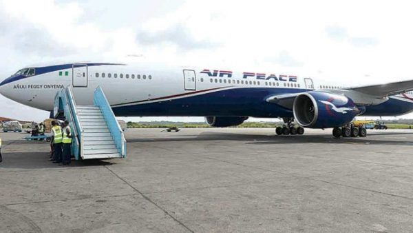 Air Peace delivers FG's medical supplies from Turkey