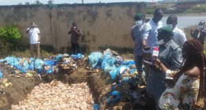 Western Marine Customs Destroys 3201 cartons of Poultry Products