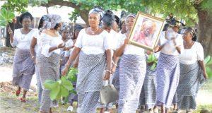Wake Ceremony: Enugu Women, Satellite Town Residents Honour Promise