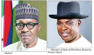 Buhari, Sylva, NNPC boss meet over Middle East tension