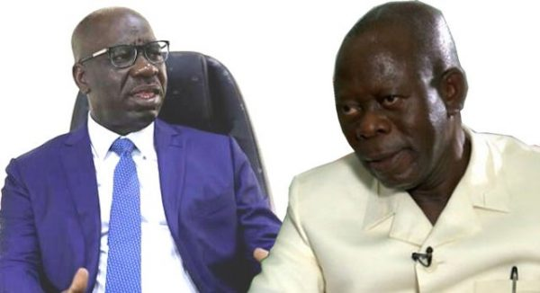 Obaseki, Oshiomhole working to end rift – Gov's aide