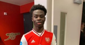 Saka best young player in EPL – Lacazette