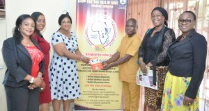 Lagos State Ministry of Women Affairs Visit MMS WoFHoF