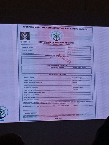 BULLS: World Class Ship Certificate