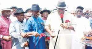 Dickson inaugurates Bayelsa's multi-billion naira airport, knocks NCAA