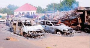 Boko Haram kills 30 travellers as military closes Maiduguri gate