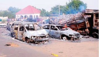 Boko Haram kills 30 travellers as military closes Maiduguri gate
