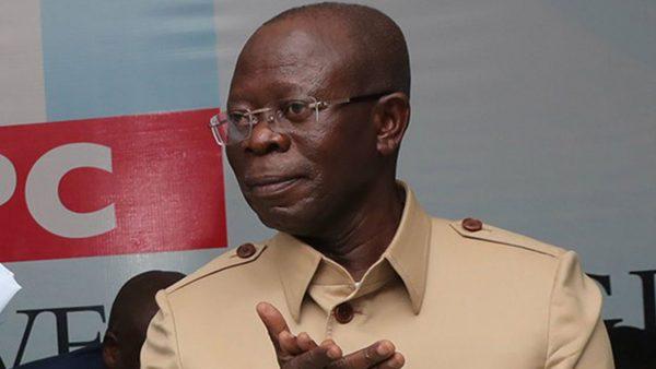Edo government writes IG, DSS, seeks Oshiomhole's immediate arrest