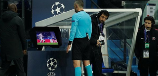 UEFA reduces VAR review time in Champions League games