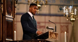 Joshua 'fit and healthy' despite Queen, Charles contact