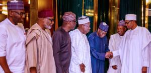 Oshiomhole: Buhari shifts NEC meeting as APC govs engage in shouting match