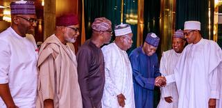 Oshiomhole: Buhari shifts NEC meeting as APC govs engage in shouting match