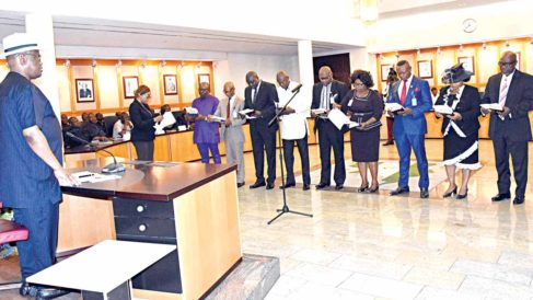 Wike inaugurates 17 perm secs as Rivers Assembly clears nine commissioners
