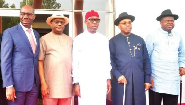 South-South governors agree to raise security outfit