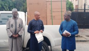 NIMASA Presents N20million, Ventilators, Ambulance, Others To Lagos