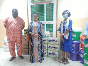 Truck Owners Donate Items To Fight COVID-19 At Lagos Ports