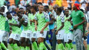 FIFA ranks Nigeria 29th best, Belgium maintains number one spot