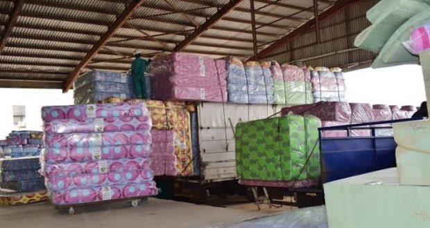 Mouka Donates 700 Mattresses To LASG