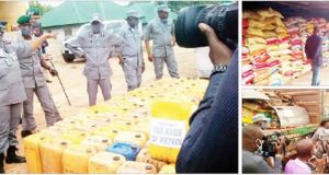 Customs intercept N13m bales of clothes on NRC train