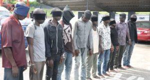 NIMASA, Navy Arraign 10 Pirates For Prosecution With Anti-Piracy Law