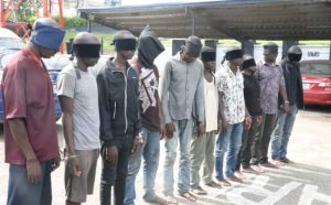 NIMASA, Navy Arraign 10 Pirates For Prosecution With Anti-Piracy Law