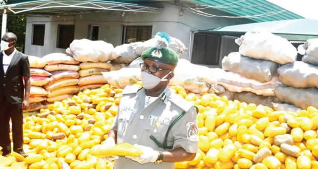 Customs seize Indian hemp worth N1bn