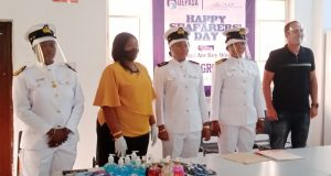 Ocean Deep Services Donate PPE, Food Items To Seafarers At Continental Shipyard