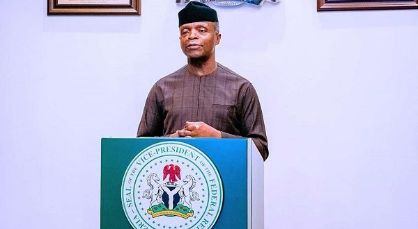 Osinbajo chairs panel to address worsening poverty