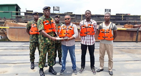 Navy Hands Over 3 Barges To EFCC In Rivers State