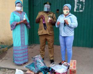Bomarah Foundation Donates PPE, Food Items To Prisoners