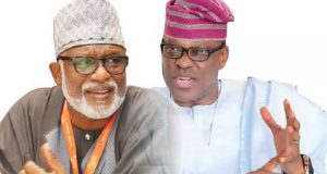 Akeredolu, Jegede trade words as supporters clash