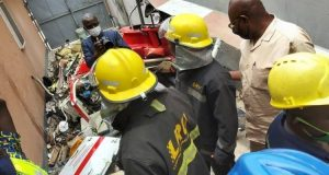 Two dead, One Injured As Helicopter Crash Land In Lagos