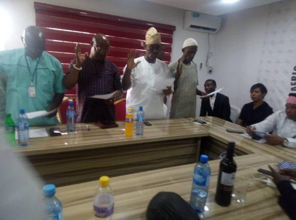 APFFLON Inaugurates New Executives At Lagos Airport